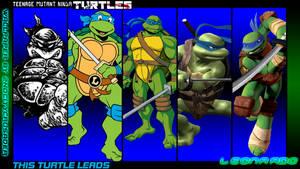 TMNT Generations Wallpaper - Leonardo by 2ndCityCrusader