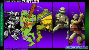 TMNT Generations Wallpaper - Donatello by 2ndCityCrusader