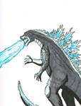 YT25 Day Challenge  8: Godzilla by DRY-Designs