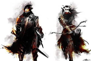 Characters by superjohan