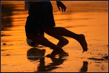 Patong Beach Soccer by superkev