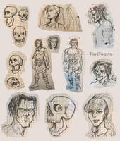 Planescape: Torment Doodles by TariToons