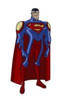 Teen Titans anime Superman by Zal-Ta-TalOs