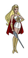 She-Ra - Princess of Power by Zal-Ta-TalOs