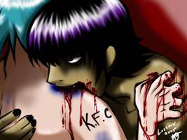 Tastes like Chicken by Murdoc-X-2D