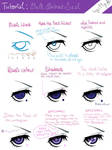 EYES 2: Ciel Phantomhive (contract seal) by Lily-Draws