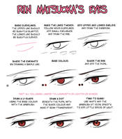 EYES 9: Rin Matsuoka by Lily-Draws