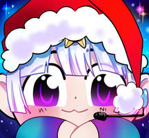 Ych Winter Icon Single1 by Lily-Draws