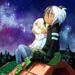 Commission Stargazing By Tshuki by Lily-Draws