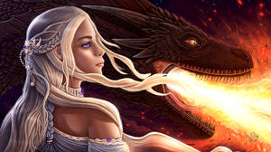 A Song Of Ice and FIRE: Daenerys by Dyewind