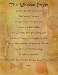The Whovian Prayer by Emmylyn-24