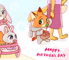 HAPPY MOTHER'S DAY by Weketa