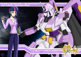 Twilight Sparkle: RX-87 True Spark Gundam by AZ-Derped-Unicorn