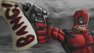 Deadpool by Darkmasteryo
