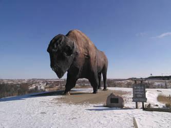 Giant Buffalo by pehpig