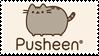 Pusheen stamp by AsTheStarsFell