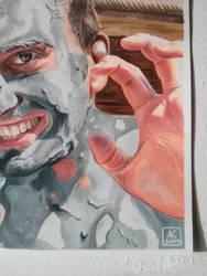 Mud Portrait - Detail by akdizzle