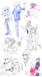 AW: Fashion show and friends by celiere