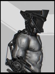 Cyborg type 1-91 by DanarArt