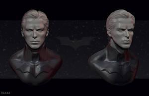 Bruce wayne Sculpt by DanarArt