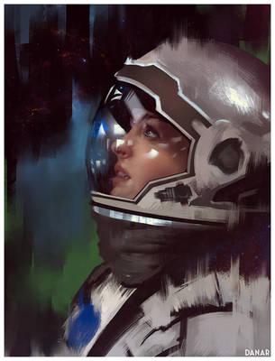 Interstellar Fan-art by DanarArt
