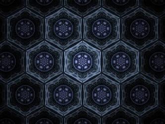 Hexagons by 0x6a61686e