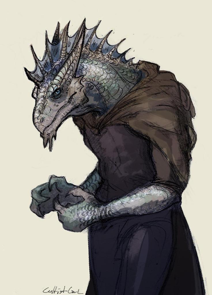 Dnd White Dragon: Silver Dragonborn By CultistCarl On DeviantArt