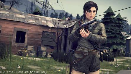 The Hunt Has Begun!   Lara Croft   Tomb Raider by zoellisrus