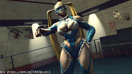 I Challenge You to the Fight!   Rainbow Mika by zoellisrus