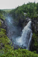 Waterfall by Azph