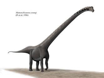 Mamenchisaurus youngi by Steveoc86