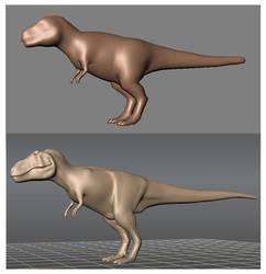 Mudbox T.rex Test by Steveoc86