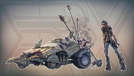 Pokemon + Mad Max (FSRX 26) by ZedEdge