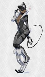 The Black-White Cat by ZedEdge