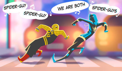 Spider-syblings by ZedEdge