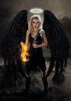 Avenging angel by Daniel-Rocal