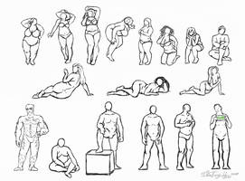 Big Boys and Big Girls: Anatomy by Zulema