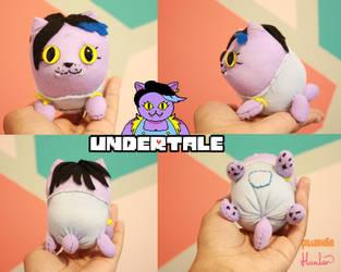 UnderTale - Catty Plush by Zulema