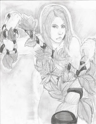 FA Female Poison Ivy BATMAN by RaavenousSoul