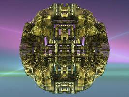Round Cube by zrosemarie