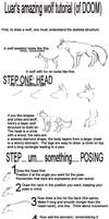 Basic Wolf Tutorial by wingedness
