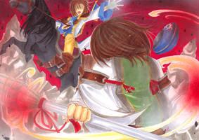 .:war of runes by KaikaKaze