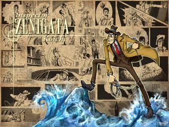Inspector Zenigata by Dasha-KO