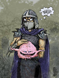 Krang and Shredder by Dasha-KO