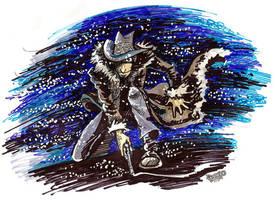 Jigen and the wind by Dasha-KO