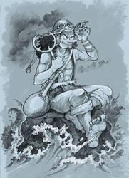 Soldier of the seas by Dasha-KO