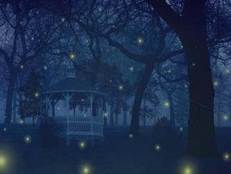 Fireflies Wallpaper by Peaches5189
