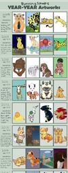 Art Summary 2008 - 2018 by RunningSpud