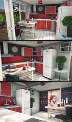 3D Little Kitchen by Reno-Cacomm