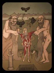 Undressing of Persephone by FerdinandBardamu